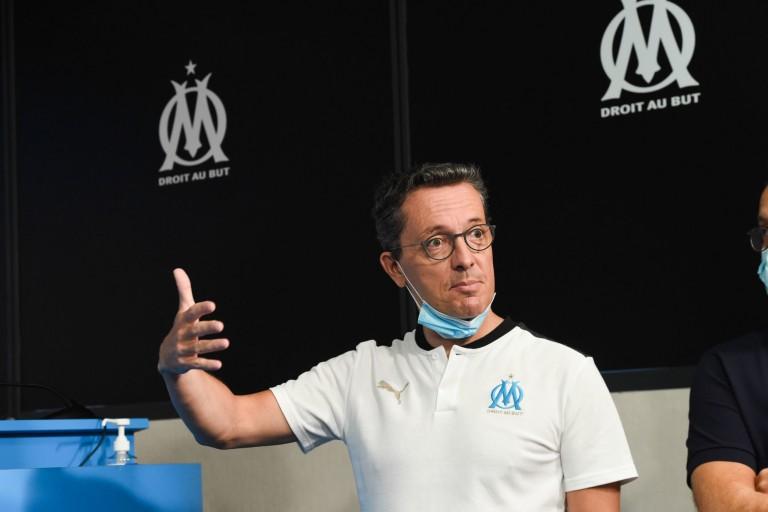 Jacques-Henri Eyraud, le président de l'OM, prêt à marcher sur les plates-bandes du PSG.