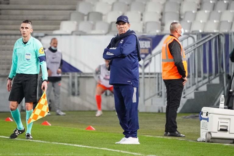 Jean-Louis Gasset le coach des Girondins de Bordeaux