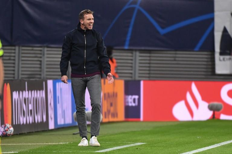 Julian Nagelsmann rage contre la victoire du PSG sur le RB Leipzig.