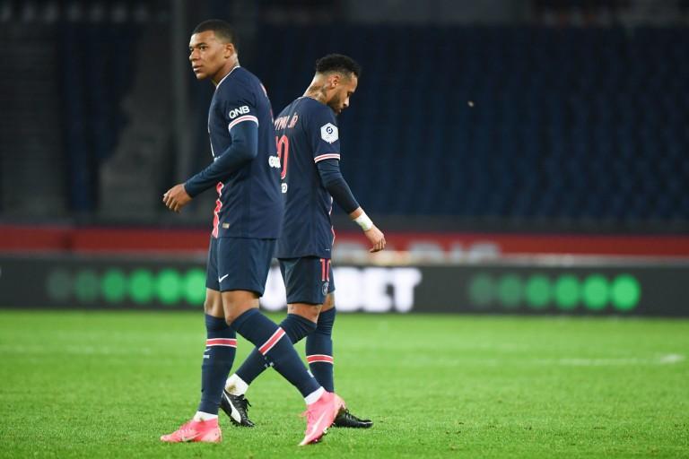 Kylian Mbappé et Neymar, deux stars du PSG.