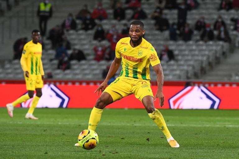Marcus Coco, ailier du FC Nantes.