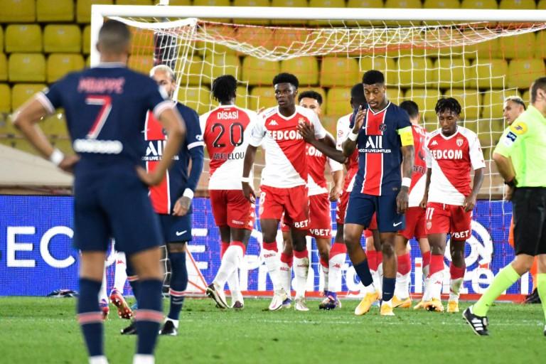 Le PSG battu par l'AS Monaco