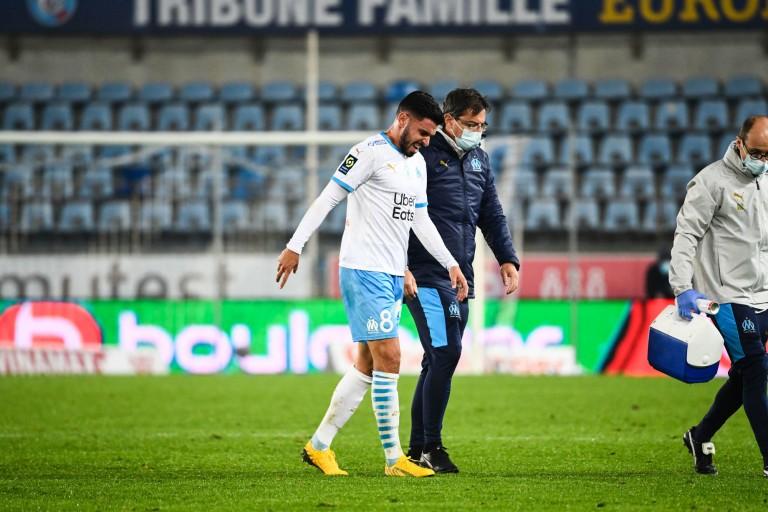 Morgan Sanson blessé lors de Strasbourg - OM