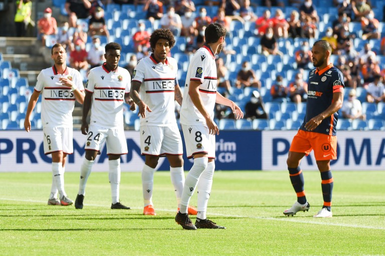 L' OGC Nice sans Morgan Schneiderlin face au Dijon FCO.