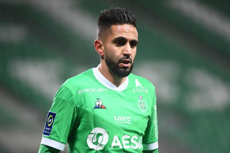 Ryad Boudebouz, milieu offensif de l'ASSE.