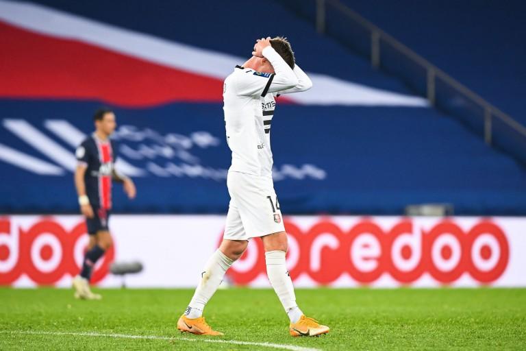 Le Stade Rennais FC très décevant à Paris