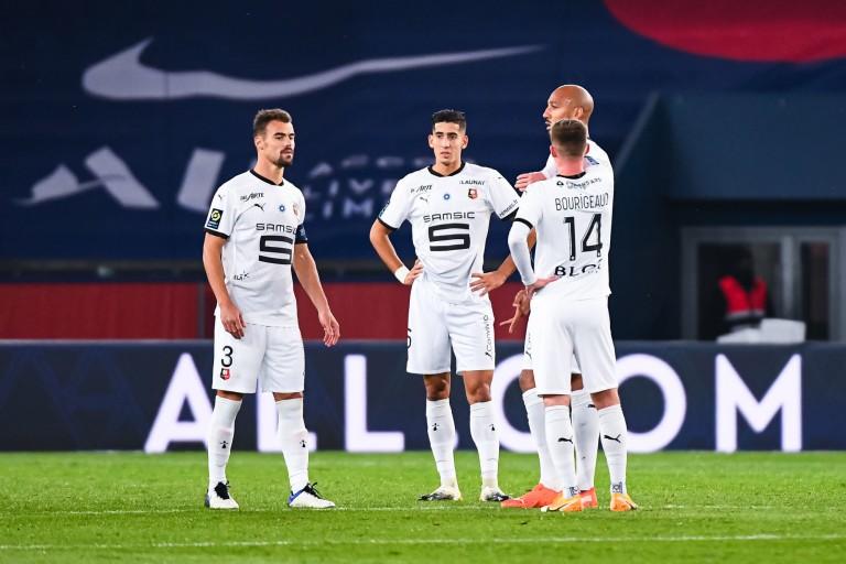 Le Stade Rennais très critiqué après sa défaite face au PSG.