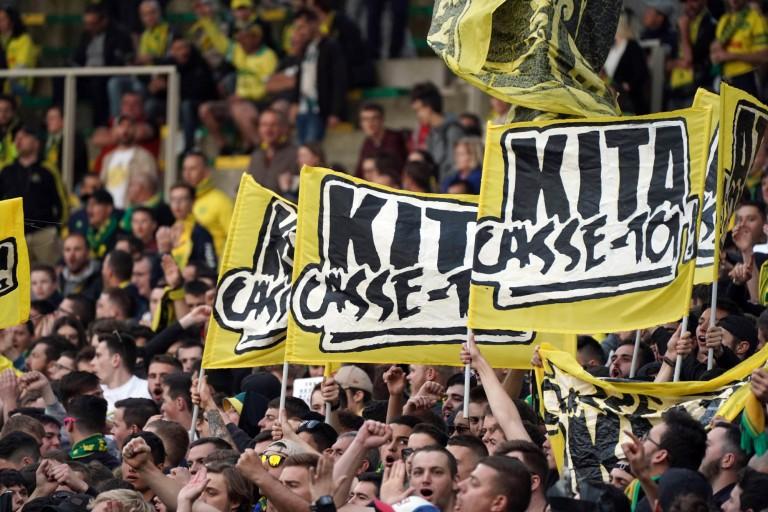 Les supporters du FC Nantes remontés contre Kita