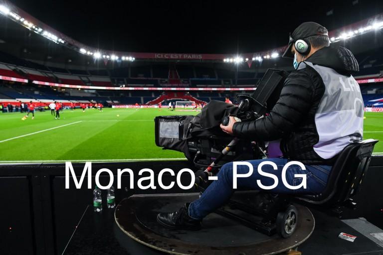 où voir le match Monaco - PSG ?
