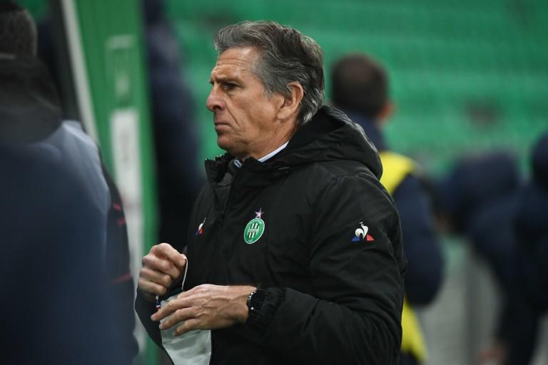 Claude Puel, entraîneur de l'ASSE.