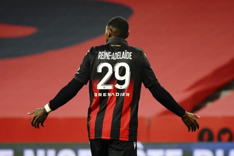 Jeff Reine-Adélaïde, milieu de terrain de l'OL visé par le FC Séville.