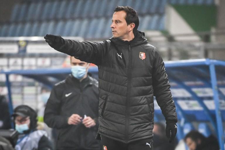 Julien Stéphan, entraîneur du Stade Rennais.