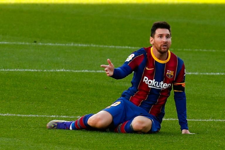 Hommage de Messi à Maradona en plein match, le Barça sanctionné