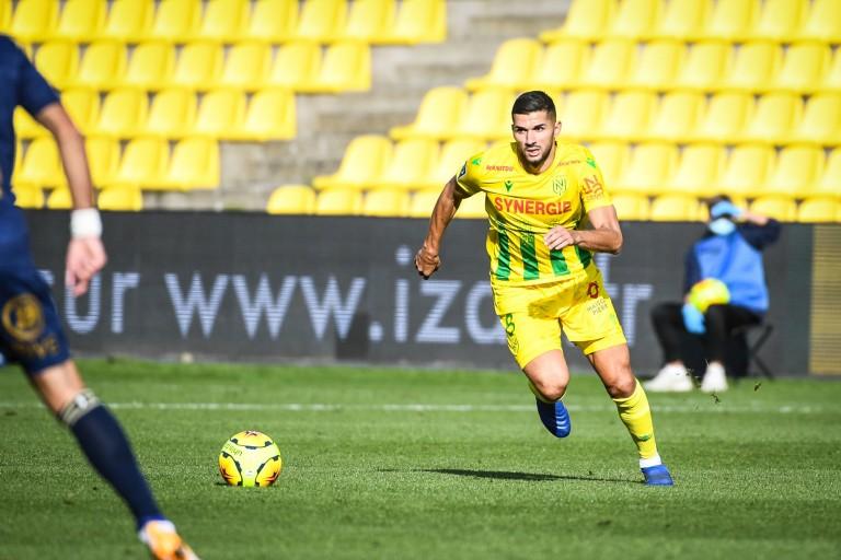 Mehdi Abeid, milieu de terrain du FC Nantes.