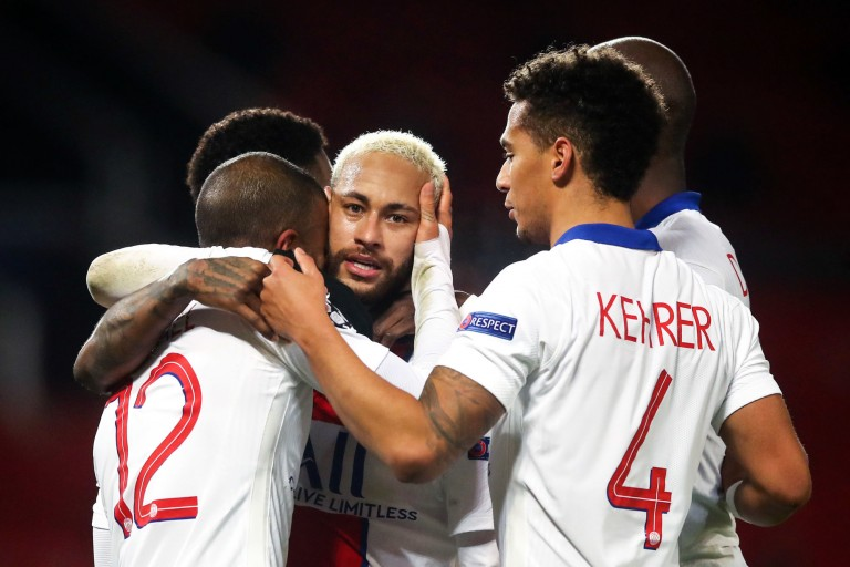 Neymar Jr sauve le PSG contre Manchester United