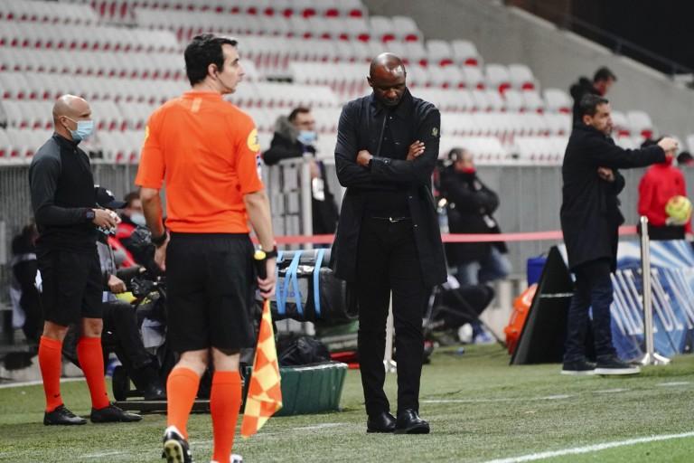 Patrick Vieira dans le dur à l'OGC Nice