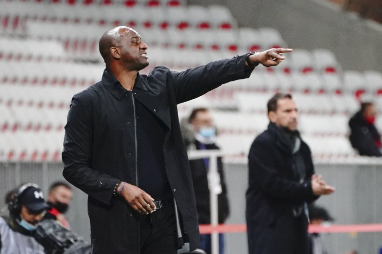 OGC Nice : Patrick Vieira assume ses responsabilités.