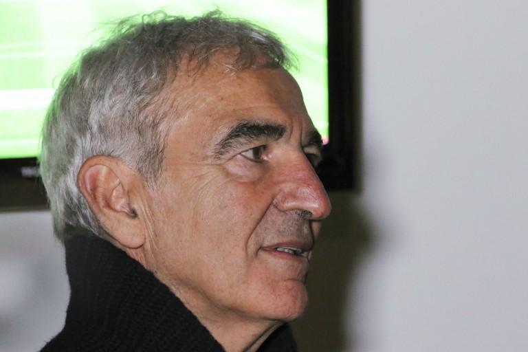 Raymond Domenech, nouveau coach du FC Nantes.