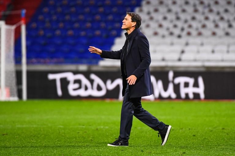 Rudi Garcia, entraîneur de l'OL.