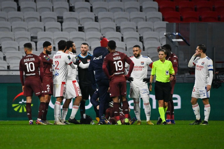 Lopes soutenu après OL - FC Metz