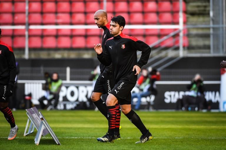 Grenier remonté par le comportement agressif de l'arbitre — Stade Rennais