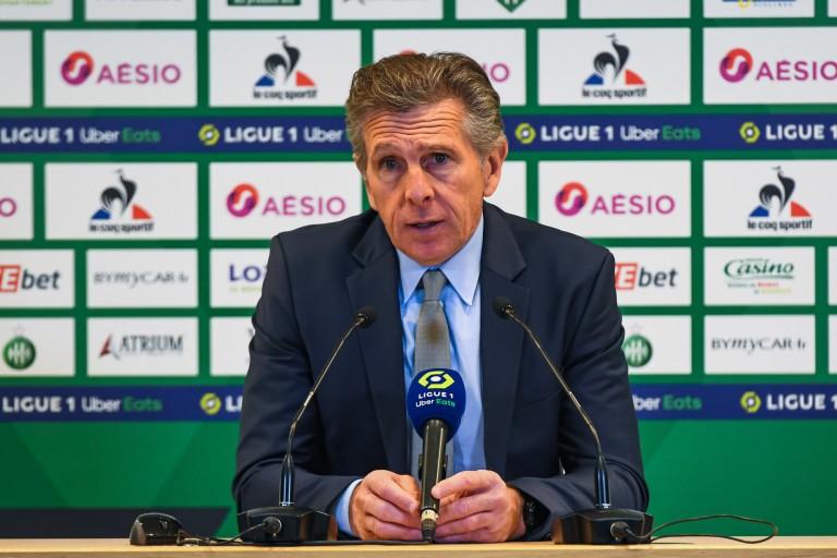 Claude Puel, manager général et entraîneur de l'ASSE.