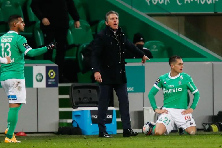 Claude Puel, manager général et coach de l'ASSE.