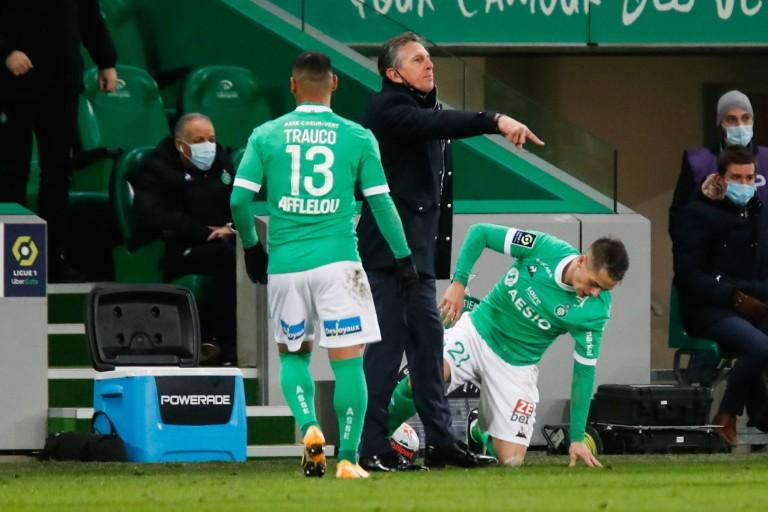 Claude Puel et l'ASSE humiliés par Lyon