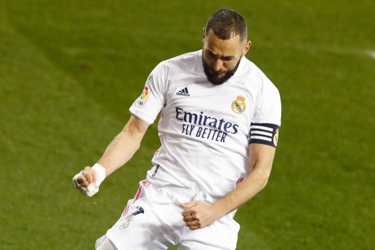 Karim Benzema, attaquant formé à l'OL et actuel buteur du Real Madrid.