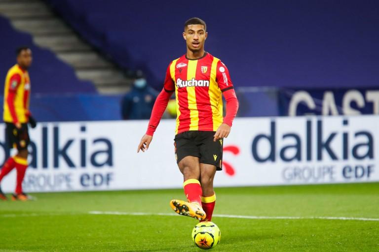 Loïc Badé, défenseur du RC Lens.