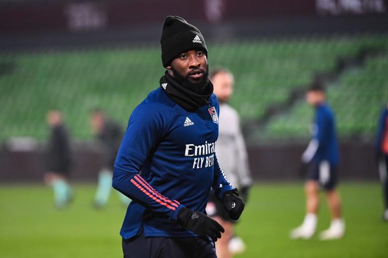 Moussa Dembélé, attaquant de l'OL prêté à l'Atlético Madrid.