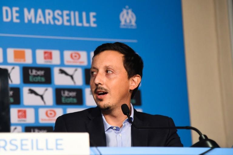 Pablo Longoria, directeur du football à l'OM.