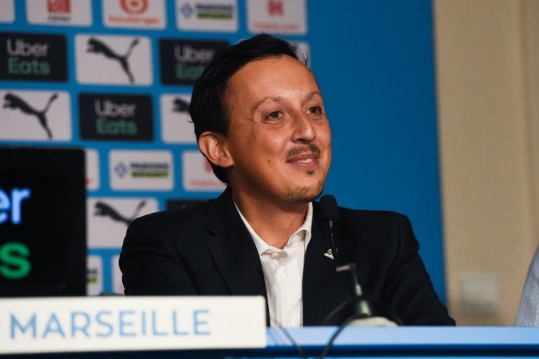 Longoria, directeur du football de l'OM.