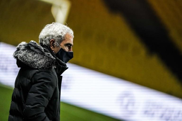 Raymond Domenech le coach du FC Nantes