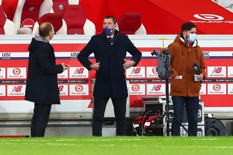 Sylvain Armand (au milieu), nouveau coordinateur sportif du LOSC.