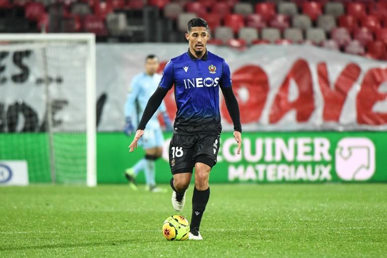 William Saliba, défenseur d'Arsenal prêté à l'OGC Nice.