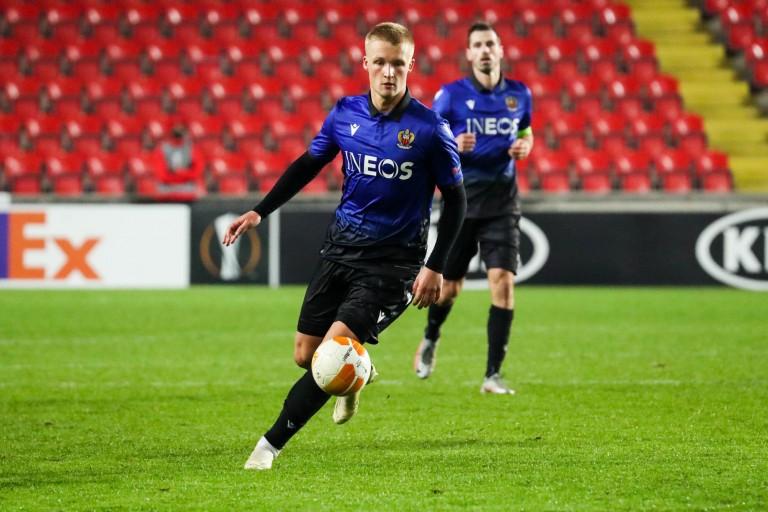 Décevant cette saison, Kasper Dolberg pourrait quitter l'OGC Nice cet hiver.