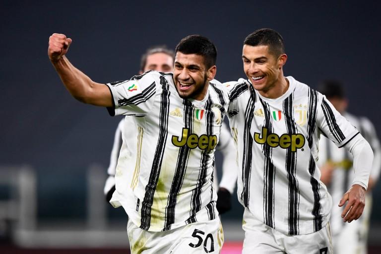 Hamza Rafia, l'ancien de l'OL, a sauvé la Juventus hier.