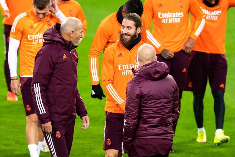 Zidane dispose du soutien du Real Madrid tout entier.