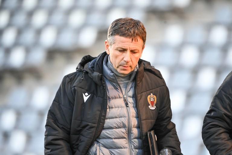 Adrian Ursea, coach de l'OGC Nice.