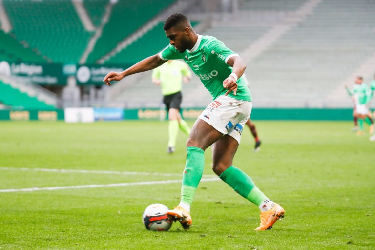 Anthony Modeste,; attaquant de l'ASSE.