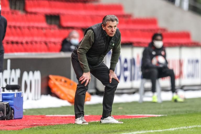 Claude Puel, coach de l'ASSE.