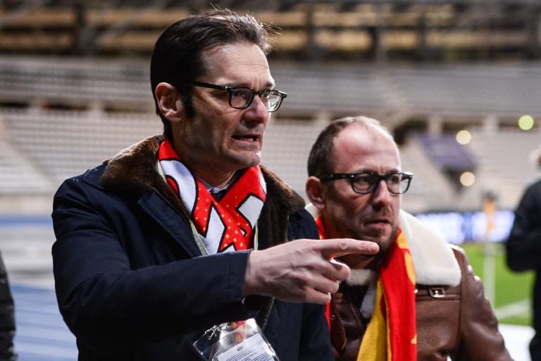Florent Ghisolfi, coordinateur sportif du RC Lens.