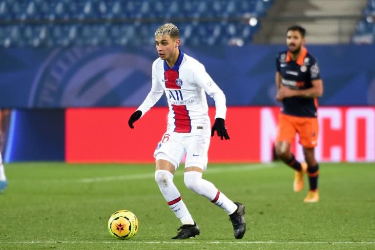 Kays Ruiz-Atil, milieu de terrain du PSG visé par Chelsea.