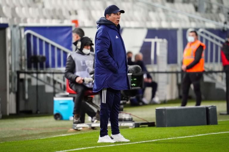 PSG : Jean-Louis Gasset, coach des Girondins de Bordeaux.