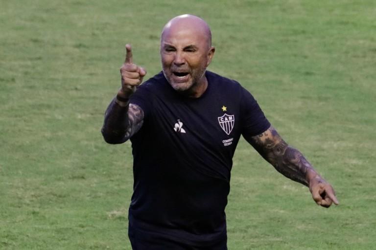 Jorge Sampaoli, pressenti au poste de nouveau coach de l'OM.