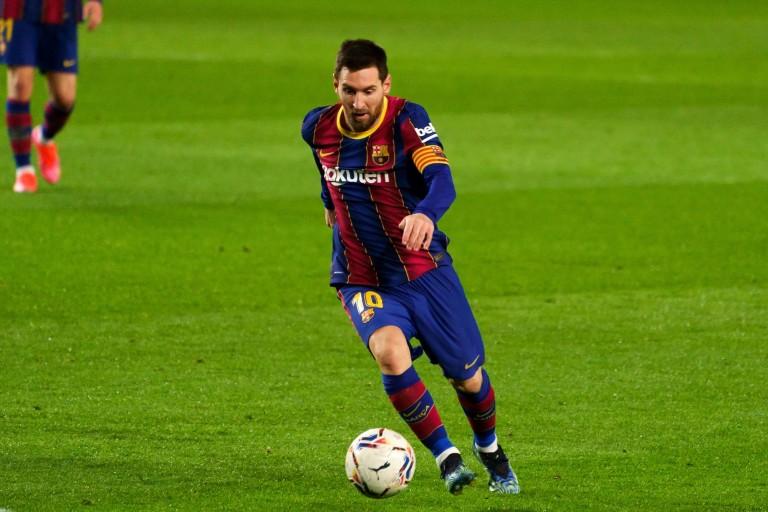 Lionel Messi, star du Barça, visé par le PSG et City.