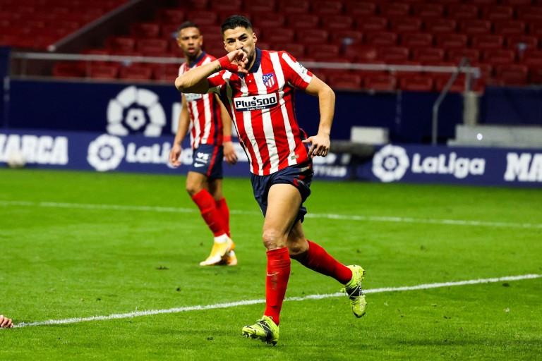 Luis Suarez, attaquant de l'Atéltico de Madrid, tenté par le Paris SG avant son transfert du Barça.