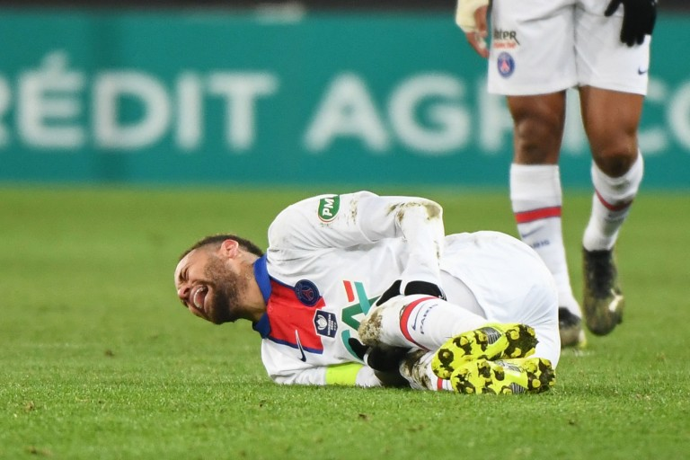 Neymar Jr blessé avant le Barça