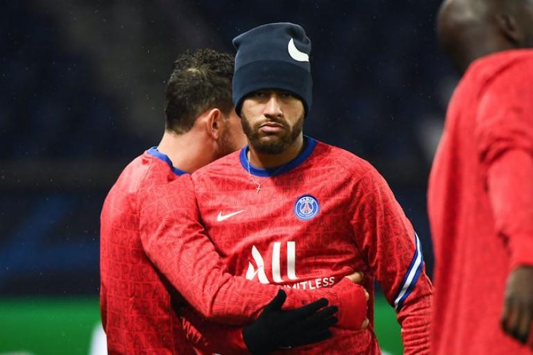 Neymar absent lors de la défaite du PSG contre le FC Nantes.
